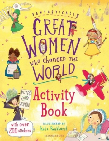 Fantastically Great Women Who... Activity Book (Various Designs)